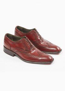 Zapato 100% cuero hecho a mano en Argentina